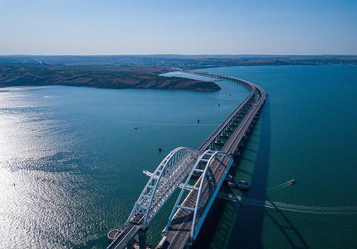 Дан старт стройки новой трассы с материка в Крым