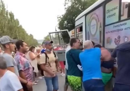 В Феодосии пьяные пассажиры избили водителя автобуса ВИДЕО
