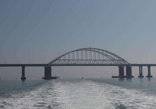 Украина признала Крымский мост своим