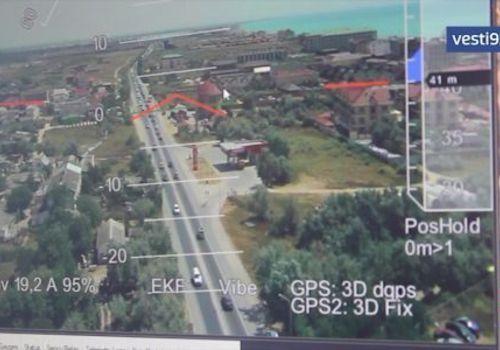 Госавтоинспекция Крыма ищет нарушителей с помощью дронов ВИДЕО