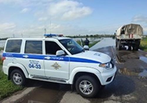 В Белогорске затопило дорогу: не исключено подтопление домов