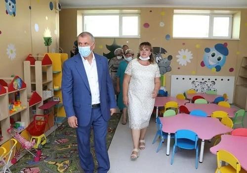 В Бахчисарайском районе открылся новый детский сад на 240 мест