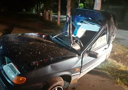 Смертельное ДТП  под Белогорском: ВАЗ влетел в дерево