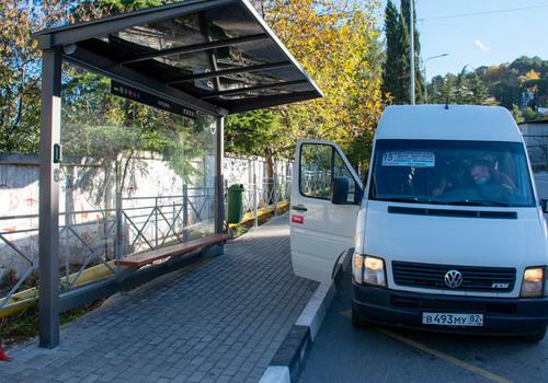 На остановках по всему Крыму установят актуальное расписание движения общественного транспорта
