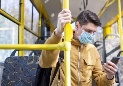 В Крыму начнут штрафовать за отсутствие маски в транспорте
