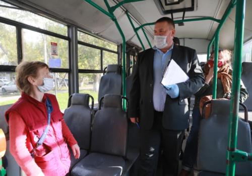 В Симферополе начались массовые проверки общественного транспорта ВИДЕО