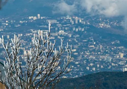 Когда в Крым придут заморозки