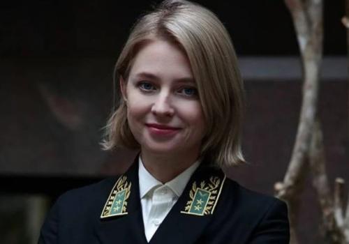 Наталья Поклонская показала фото в новом мундире посла в Кабо-Верде