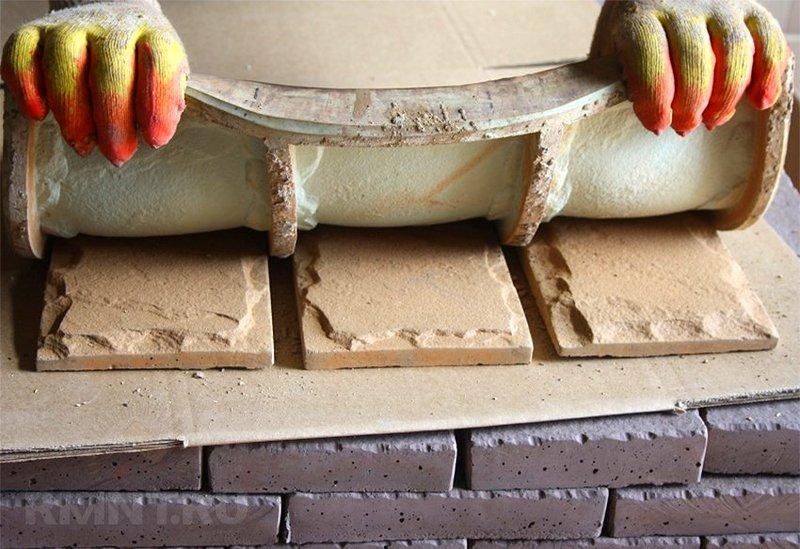 Декор своими руками: полиуретановые формы для изготовления искусственного декоративного камня