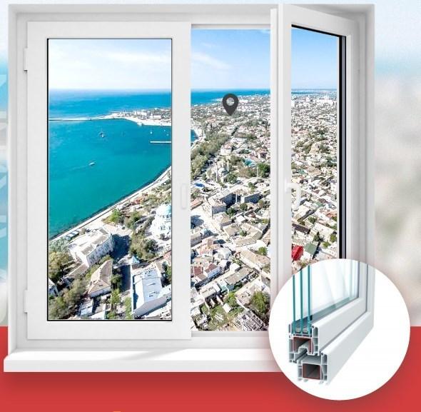 Окна ПВХ в Крыму, производство, доставка, монтаж – «Гарант». 100% качество!