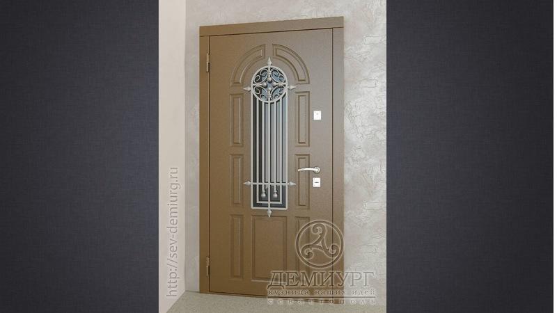 Производство металлических входных дверей в Севастополе – компания «Демиург»