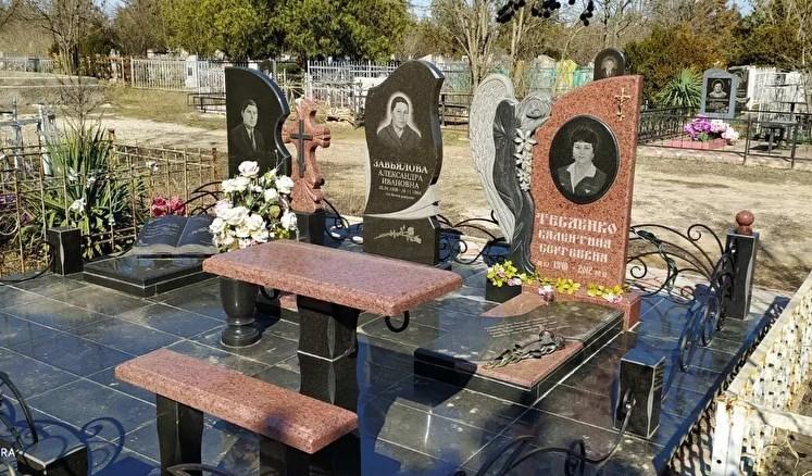 Памятники, мусульманские памятники Баш-Таш, ограды в Крыму –  «Лунный свет», изготовление, монтаж