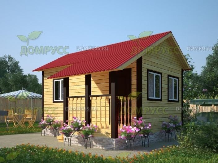 Строительство домов и бань из бруса в Крыму - компания «Домрусс»: всегда высокое качество!