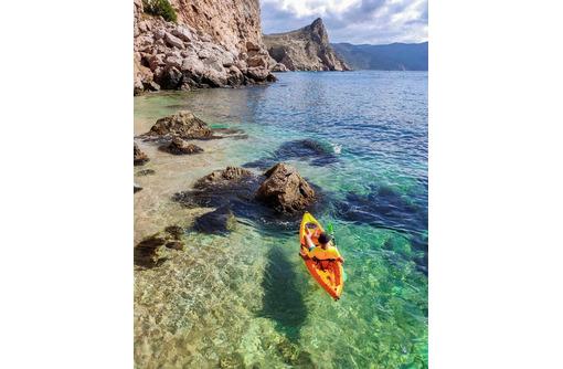 Где лучше всего путешествовать на каяке в Крыму?